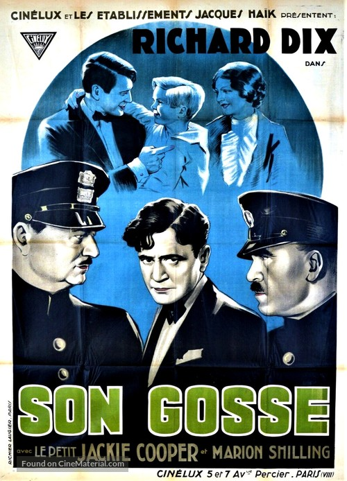 Young Donovan's Kid - French Movie Poster