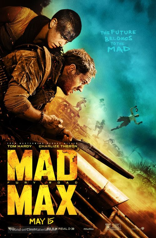 Mad Max I v15 T-shirt natural movie poster all sizes S...5XL