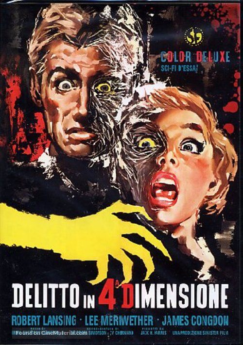 4D Man - Italian Movie Poster