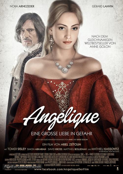 Angélique - German Movie Poster