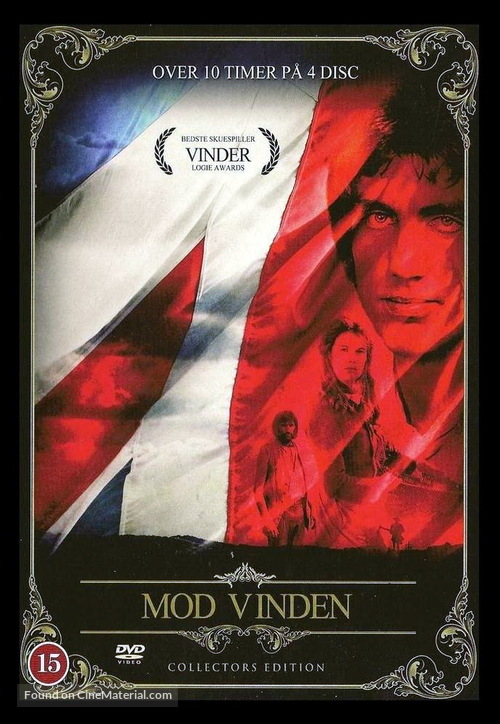 """""""Against the Wind"""" - Danish DVD movie cover"""