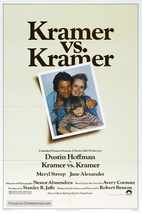 Kramer vs. Kramer - Movie Poster