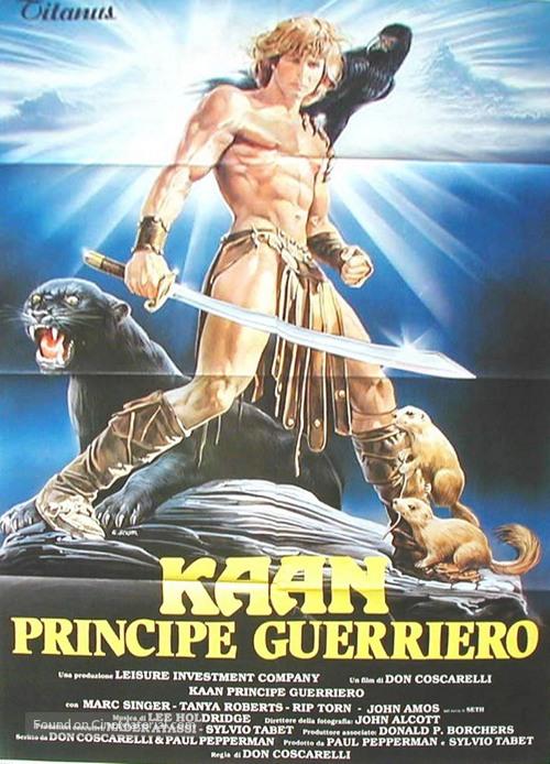 The Beastmaster - Italian Movie Poster