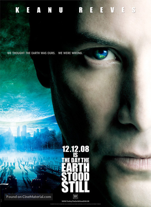 The Day the Earth Stood Still - Danish Movie Poster