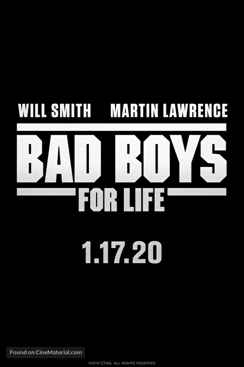 Bad Boys for Life - Logo