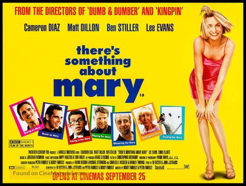 There's Something About Mary - British Movie Poster