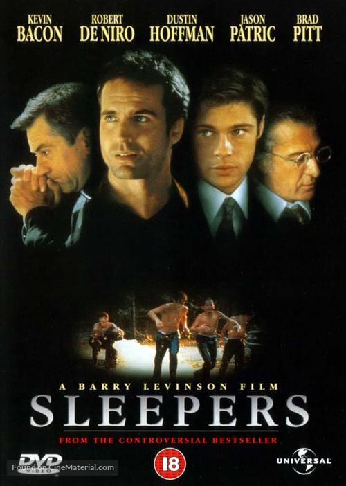 Sleepers - British DVD movie cover