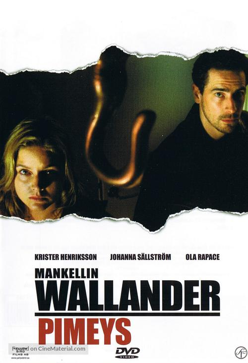 """""""Wallander"""" - Finnish DVD movie cover"""