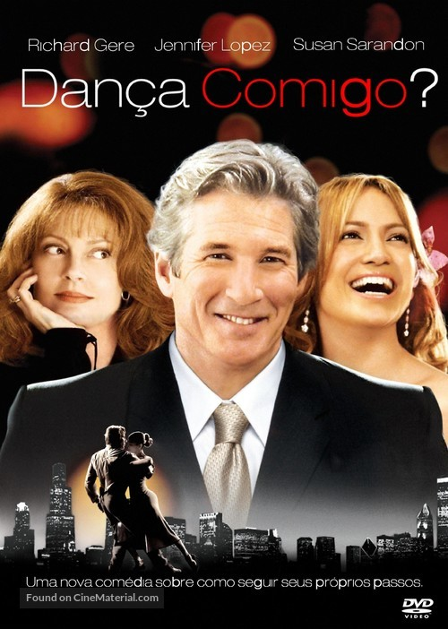 Shall We Dance - Brazilian DVD movie cover