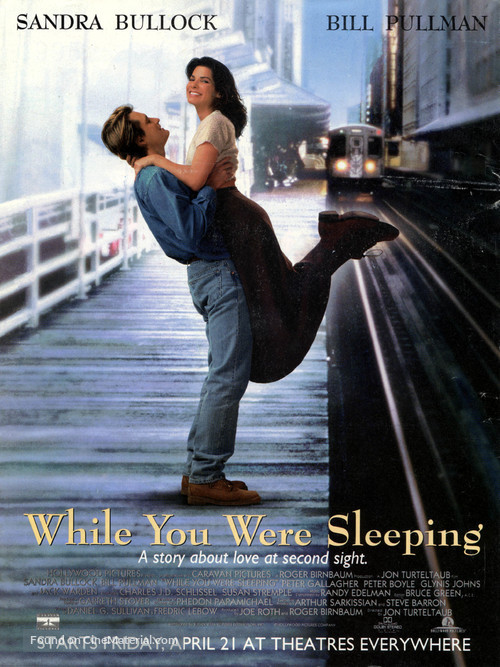 While You Were Sleeping - Theatrical movie poster