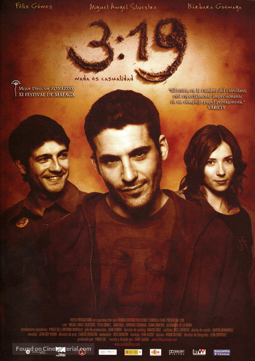3:19 - Spanish Movie Poster