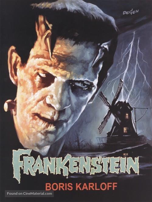 Frankenstein - German Movie Poster