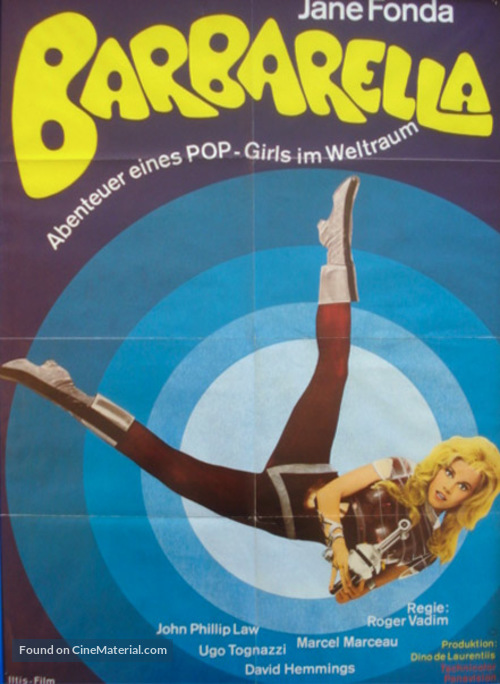 Barbarella - German Re-release movie poster