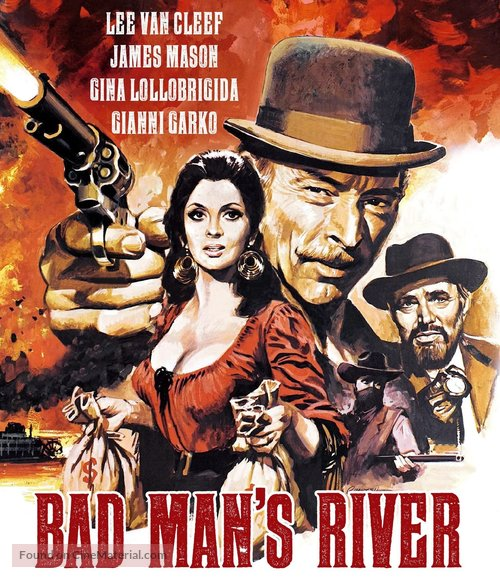Bad Man's River - Blu-Ray movie cover
