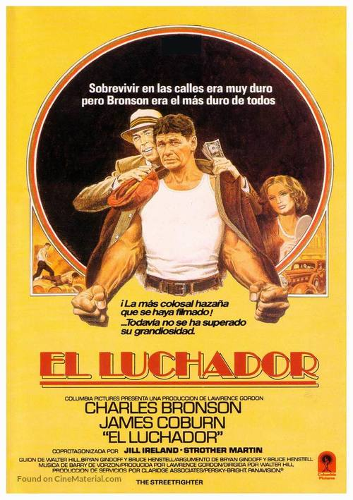 Hard Times - Spanish Movie Poster