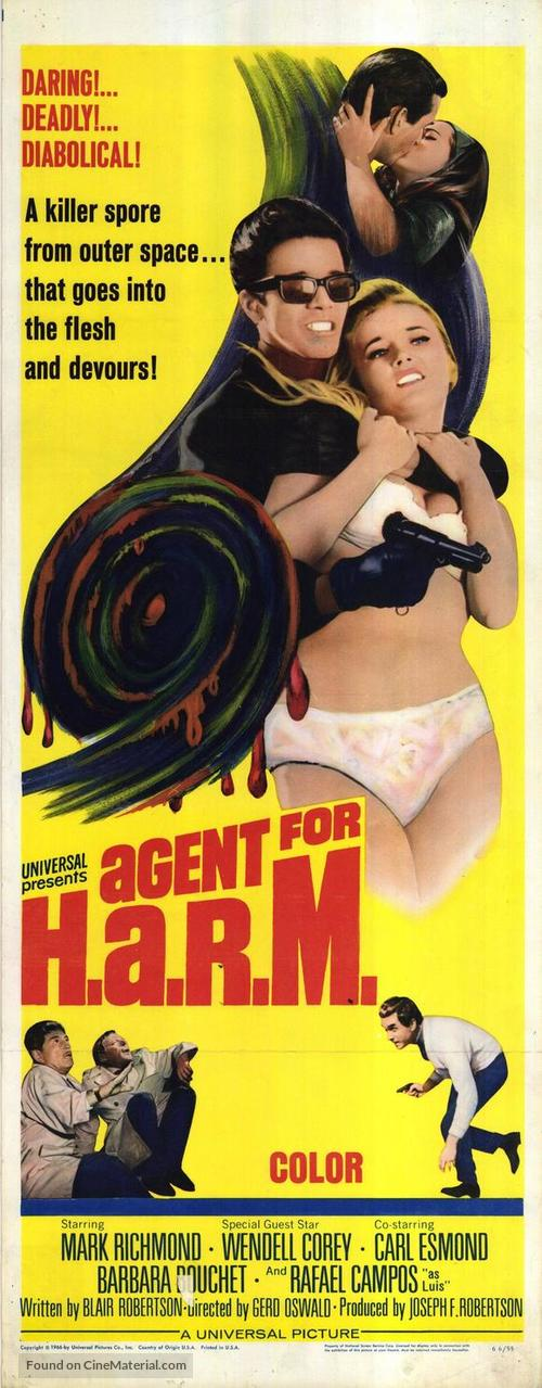Agent for H.A.R.M. - Movie Poster