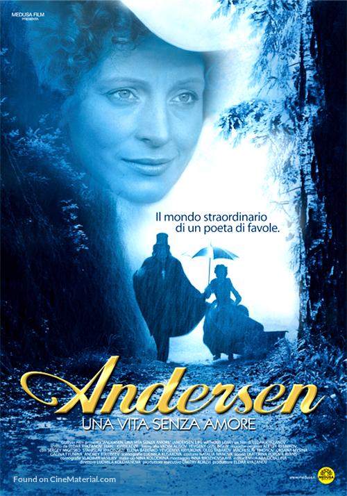 Andersen. Zhizn bez lyubvi - Italian Movie Poster