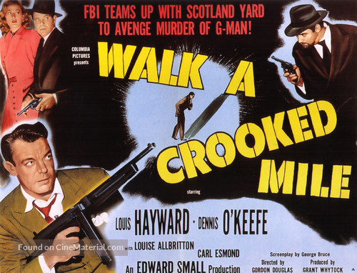 Walk a Crooked Mile - Movie Poster