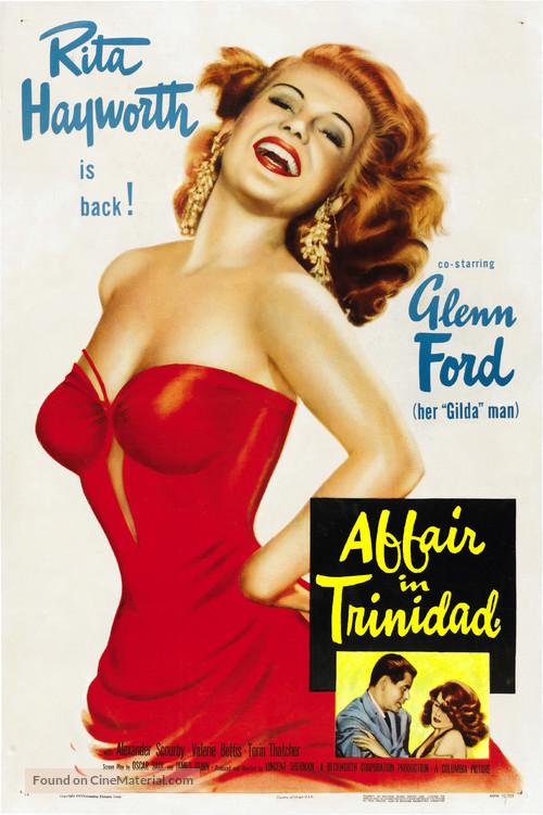 Affair in Trinidad - Movie Poster