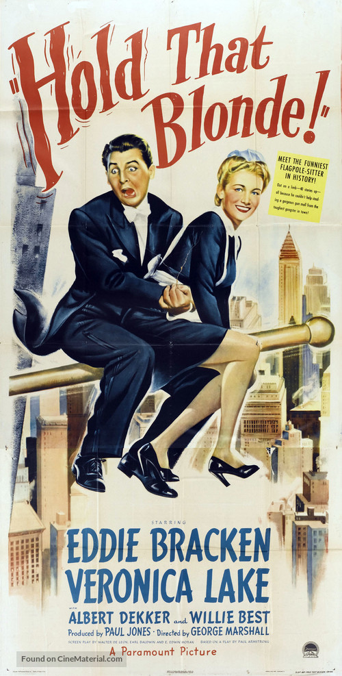 Hold That Blonde - Movie Poster