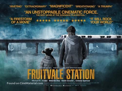 Fruitvale Station - British Movie Poster