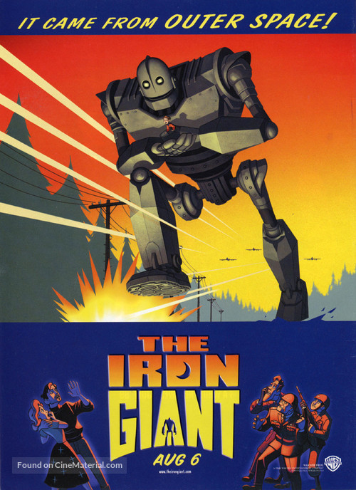 The Iron Giant - Advance movie poster