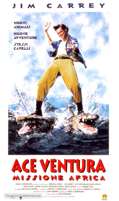Ace Ventura: When Nature Calls - Italian Movie Poster