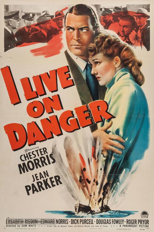 I Live on Danger - Movie Poster