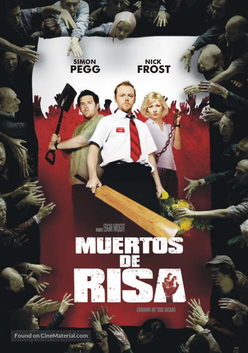 Shaun of the Dead - Argentinian Movie Cover