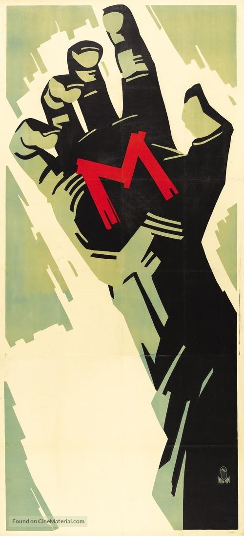 M - German Movie Poster