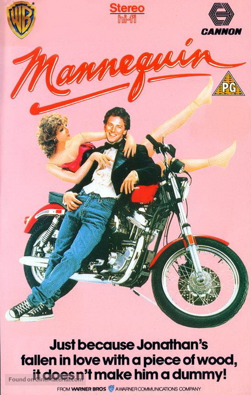 Mannequin - British VHS movie cover
