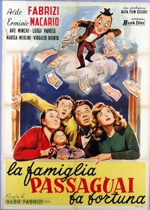 La famiglia Passaguai fa fortuna - Italian Movie Poster