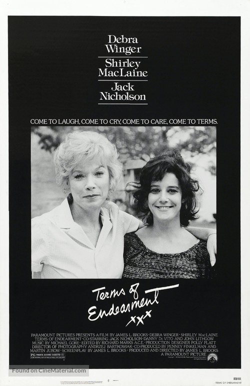 Terms of Endearment - Movie Poster