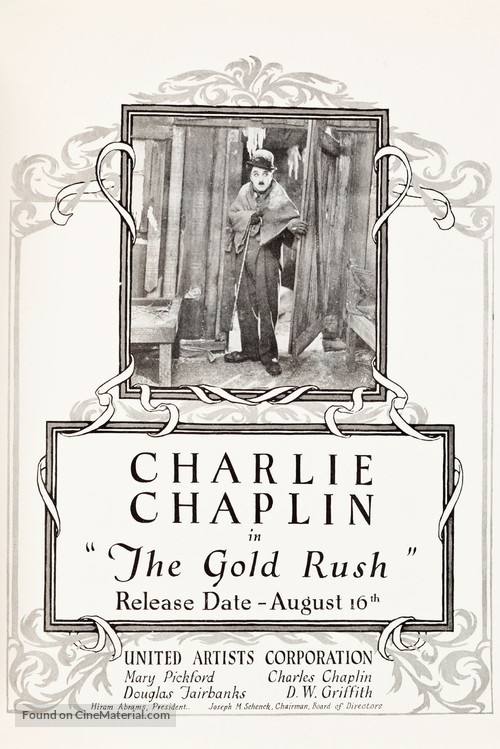 The Gold Rush - poster
