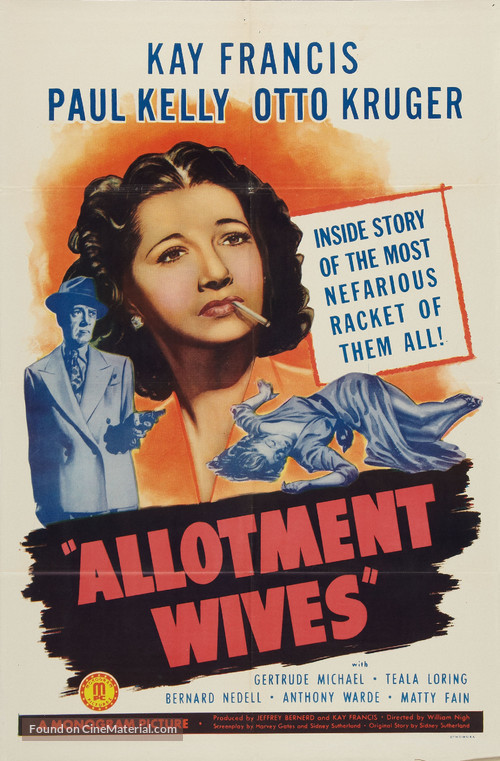 Allotment Wives - Movie Poster