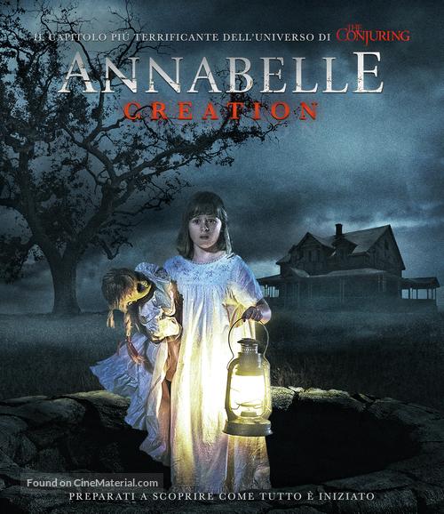 Annabelle Creation 2017 Italian Movie Cover