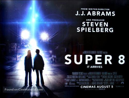 Super 8 - British Movie Poster