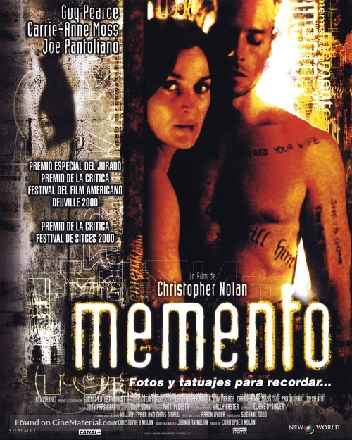 Memento 2019 Dual Audio Hindi 480p BluRay 350mb