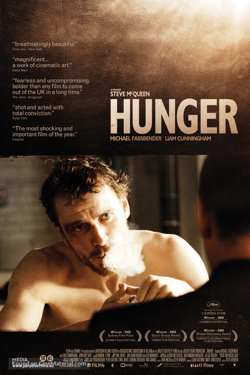 Hunger - Dutch Movie Poster