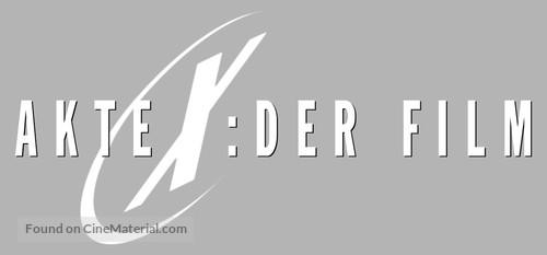 The X Files - German Logo