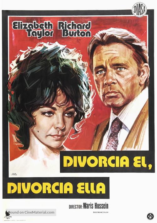 Divorce His - Divorce Hers - Spanish Movie Poster