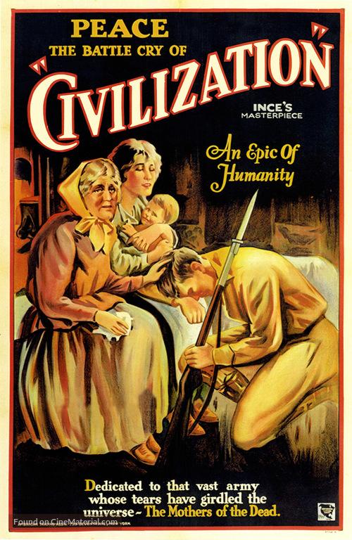 Civilization - Re-release movie poster