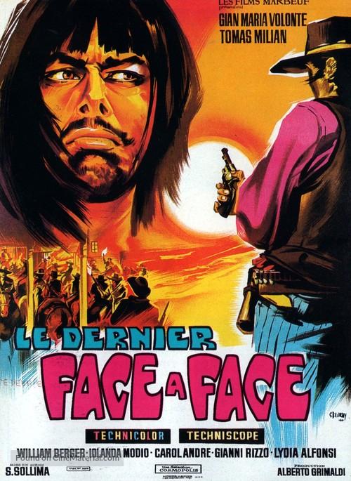 Faccia a faccia - French Movie Poster