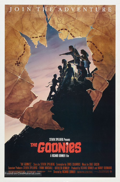 The Goonies - Theatrical movie poster