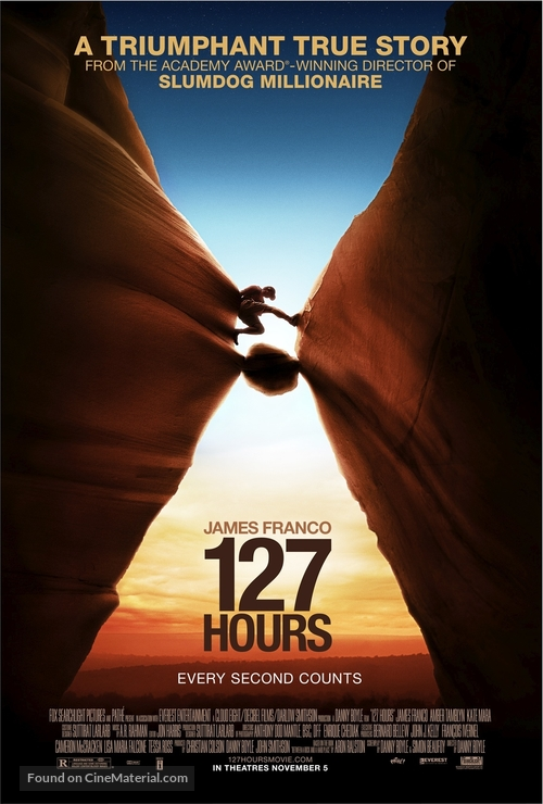 127 Hours - Movie Poster