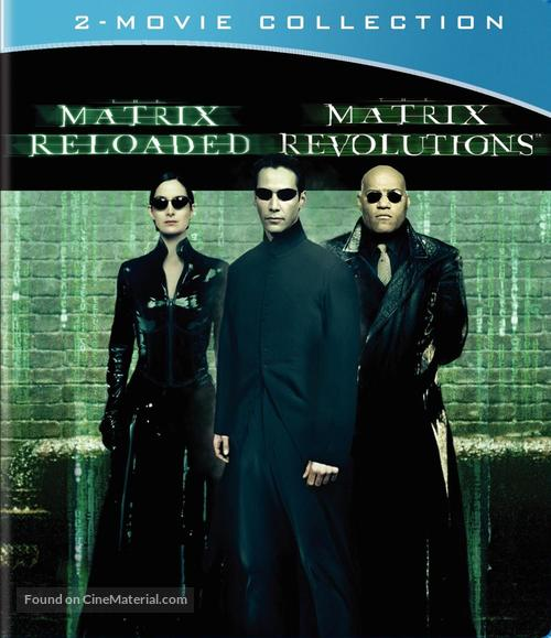 The Matrix Reloaded 2003 Blu Ray Movie Cover