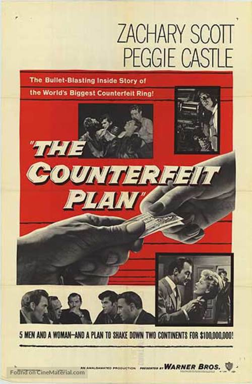 The Counterfeit Plan - Movie Poster