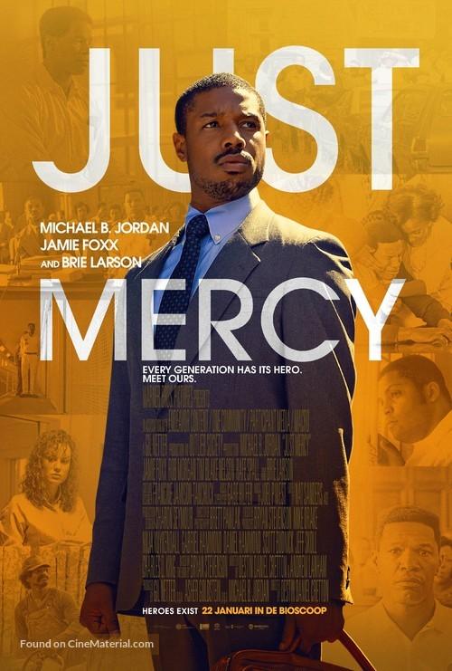 Just Mercy - Dutch Movie Poster