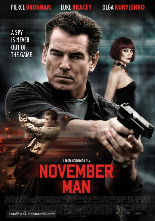 November Man - Dutch Movie Poster