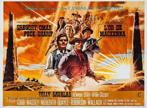 Mackenna's Gold - French Movie Poster